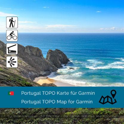 Portugal Topo Garmin Karte Download