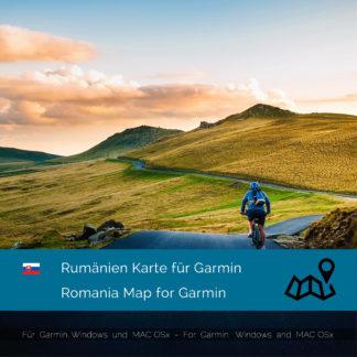 Rumänien Garmin Karte Download