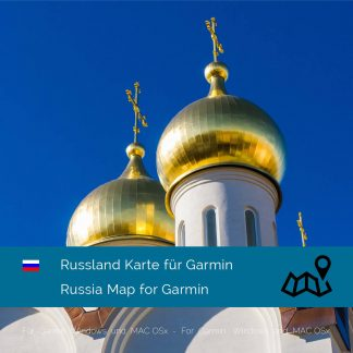 Russland Garmin Karte download