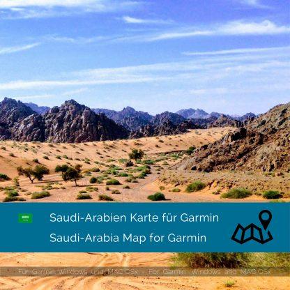 Saudi-Arabien Garmin Karte Download