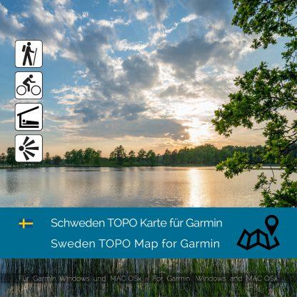 Schweden Garmin Karte Download