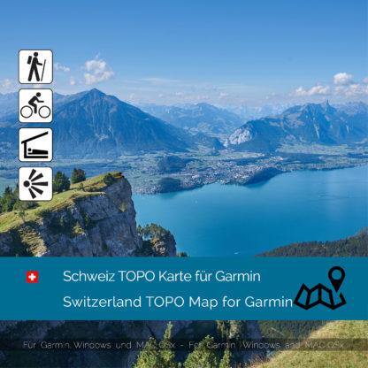 Schweiz Garmin Karte Download