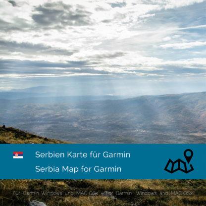 Serbien Garmin Karte Download
