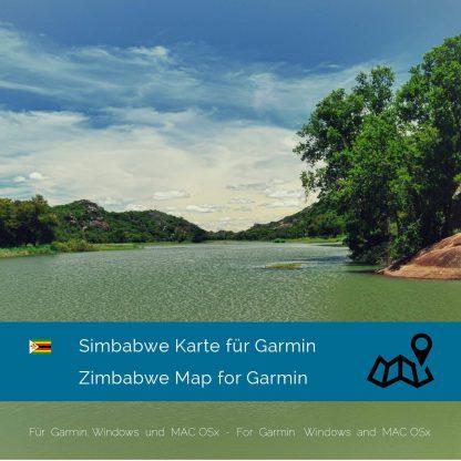Simbabwe Garmin Karte Download