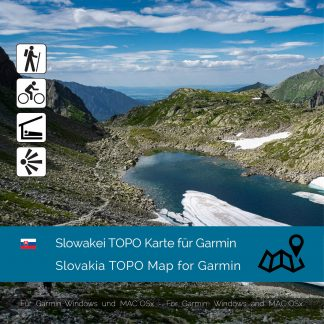 Slowakei TOPO Karte für Garmin Download