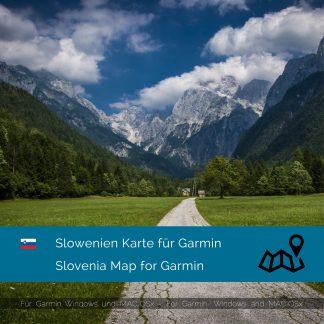 Slowenien Garmin Karte Download