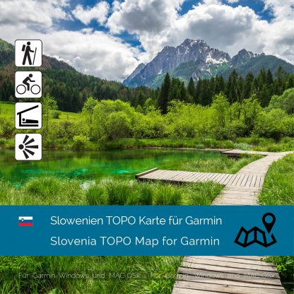 Slowenien TOPO Garmin Karte Download