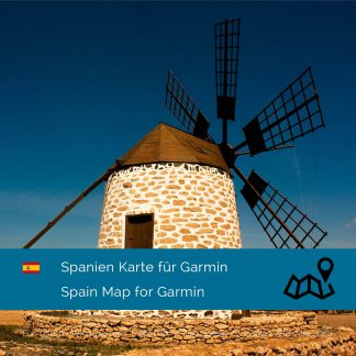 Spanien Garmin Karte