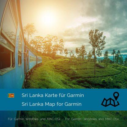 Sri Lanka Garmin Karte Download