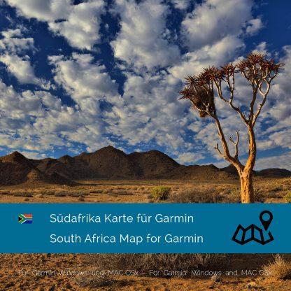 Südafrika Garmin Karte Download