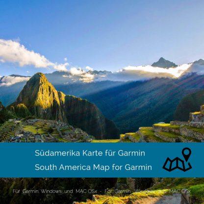 Südamerika Garmin Karte Download