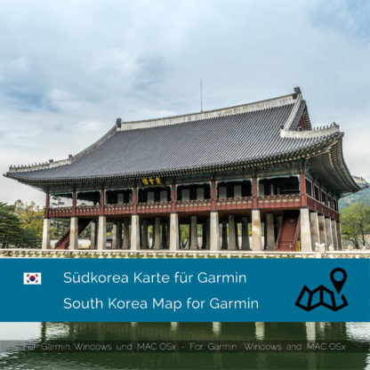 Südkorea Garmin Karte Download