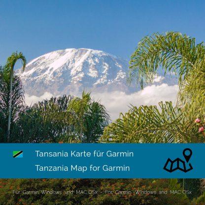 Tansania Garmin Karte Download