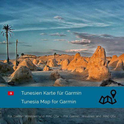 Tunesien Garmin Karte Download