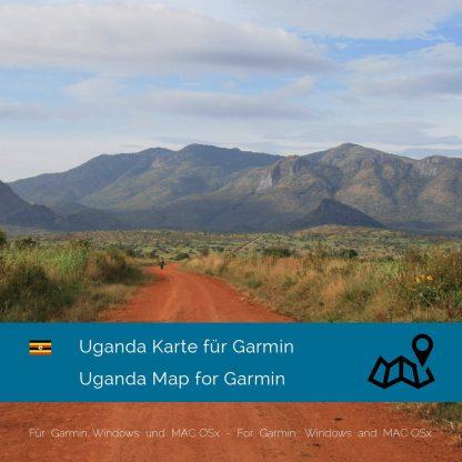 Uganda Garmin Karte Download