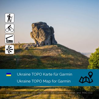 Ukraine TOPO Karte für Garmin Download