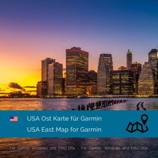 USA Ost - garmin Karte Download