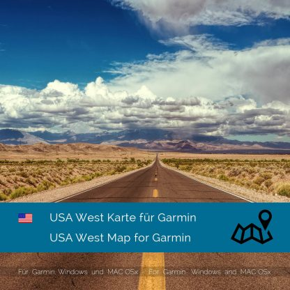 USA West - Garmin Karte Download